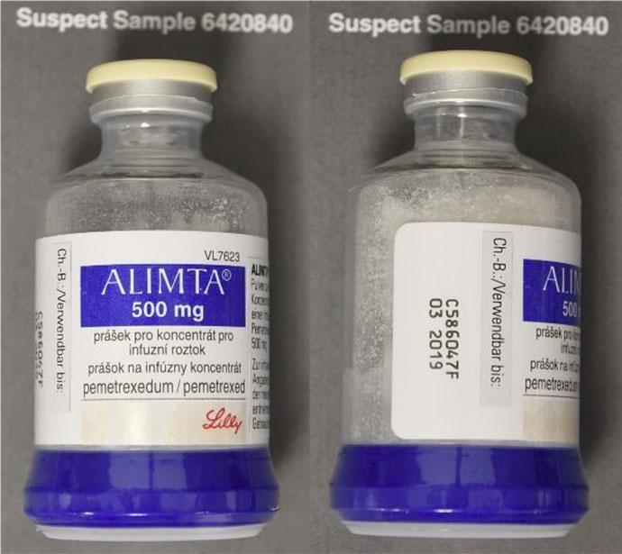 Alimta-Medikament-falsch